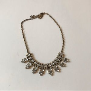 J Crew Factory Crystal Statement Necklace
